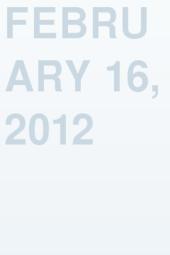 February 16, 2012