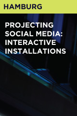 Projecting Social Media: Interactive Installations
