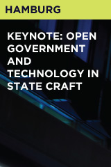 Keynote: Open Government and Technology in State Craft