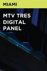 MTV Tres Digital Panel