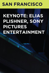 Keynote: Elias Plishner, Sony Pictures Entertainment