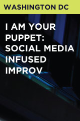 I am your Puppet: Social Media Infused Improv