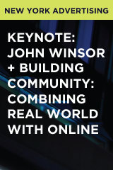 Keynote: John Winsor + Building Community: Combining Real World with Online