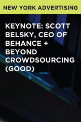 Keynote: Scott Belsky, CEO of Behance + Beyond Crowdsourcing (GOOD)