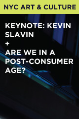 Keynote: Kevin Slavin + Are We in a Post-Consumer Age?