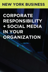 Corporate Responsibility + Social Media in Your Organization