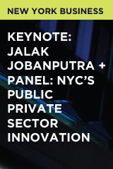 Keynote: Jalak Jobanputra + Panel: NYC's Public Private Sector Innovation