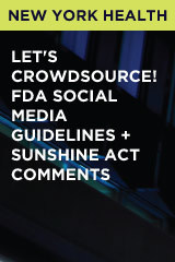 Let's Crowdsource! FDA Social Media Guidelines + Sunshine Act Comments