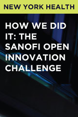 How We Did It: The Sanofi Open Innovation Challenge