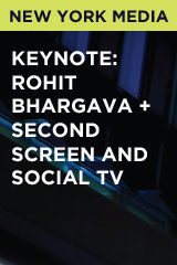 Keynote: Rohit Bhargava + Second Screen and Social TV