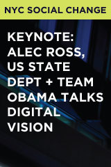 Keynote: Alec Ross, US State Dept + Team Obama Talks Digital Vision