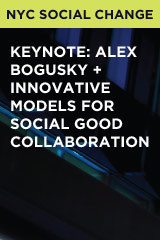 Keynote: Alex Bogusky + Innovative Models for Social Good Collaboration