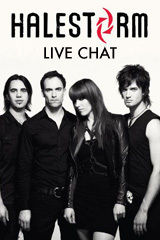 Live Chat with Halestorm