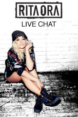 Rita Ora Live Chat