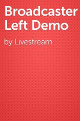 Broadcaster Left Demo