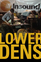 Lower Dens live from Insound