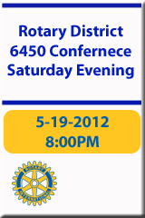 2012 District 6450 Rotary Conference (Saturday - Part 2)