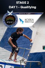 Day 1 KOREA MATCH CUP, Stage 2 ALPARI World Match Racing Tour
