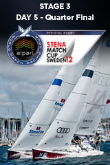 Day 5 STENA MATCH CUP SWEDEN, Stage 3 ALPARI World Match Racing Tour