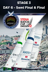Day 6 STENA MATCH CUP SWEDEN, Stage 3 ALPARI World Match Racing Tour
