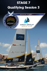 Qualifying Session 3 Argo Group Gold Cup, Stage 7 ALPARI World Match Racing Tour