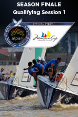 Qualifying Session 1, Monsoon Cup, Season Finale ALPARI World Match Racing Tour