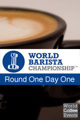 2012 World Barista Championship Day One