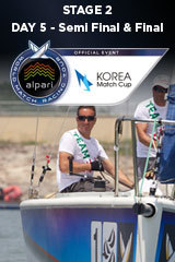 Day 5 KOREA MATCH CUP, Stage 2 ALPARI World Match Racing Tour