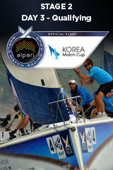 Day 3 KOREA MATCH CUP, Stage 2 ALPARI World Match Racing Tour
