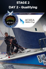 Day 2 KOREA MATCH CUP, Stage 2 ALPARI World Match Racing Tour