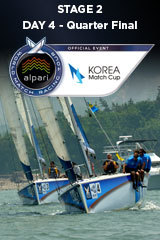 Day 4 KOREA MATCH CUP, Stage 2 ALPARI World Match Racing Tour