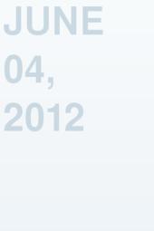 June 04, 2012