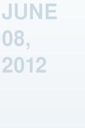 June 08, 2012