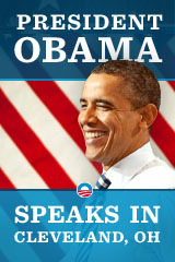 President Obama Speaks in Cleveland, Ohio