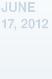 June 17, 2012