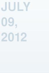 July 09, 2012