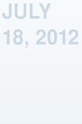 July 18, 2012