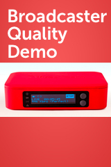 Broadcaster Quality Demo