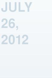 July 26, 2012