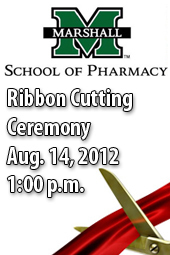 School of Pharmacy Ribbon Cutting