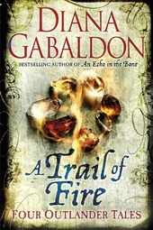 Diana Gabaldon signs A TRAIL OF FIRE