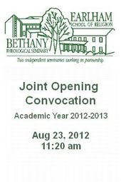 Opening Convocation -- 2012-2013