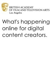 What's Happening Online for Digital Content Creators