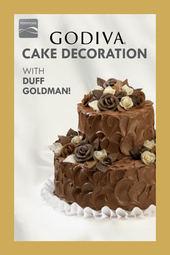 GODIVA Cake Decorating with Duff Goldman