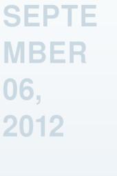 September 06, 2012
