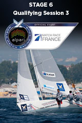 Qualifying Session 3 Match Race France, Stage 6 ALPARI World Match Racing Tour