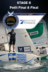 Petit Final & Final, Match Race France, Stage 6 ALPARI World Match Racing Tour