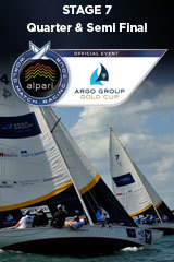 Quarter & Semi Final Argo Group Gold Cup, Stage 7 ALPARI World Match Racing Tour