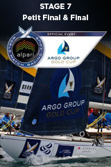 Petit Final & Final, Argo Group Gold Cup, Stage 7 ALPARI World Match Racing Tour