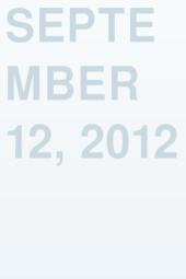 September 12, 2012